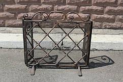 Кованые каминные решетки и экраны