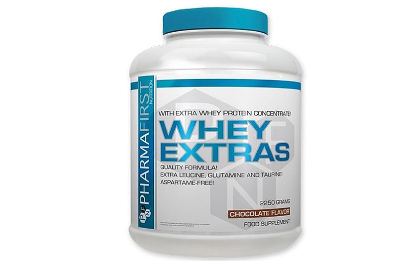 Протеин Pharma First Whey Extra's 2250 g. (ШОКОЛАД)