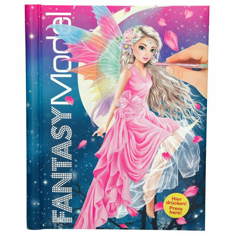 Top Model Альбом для аплікації Казкові феї із музикою і підсвіткою ( Fantasy Model альбом  с музыкой )