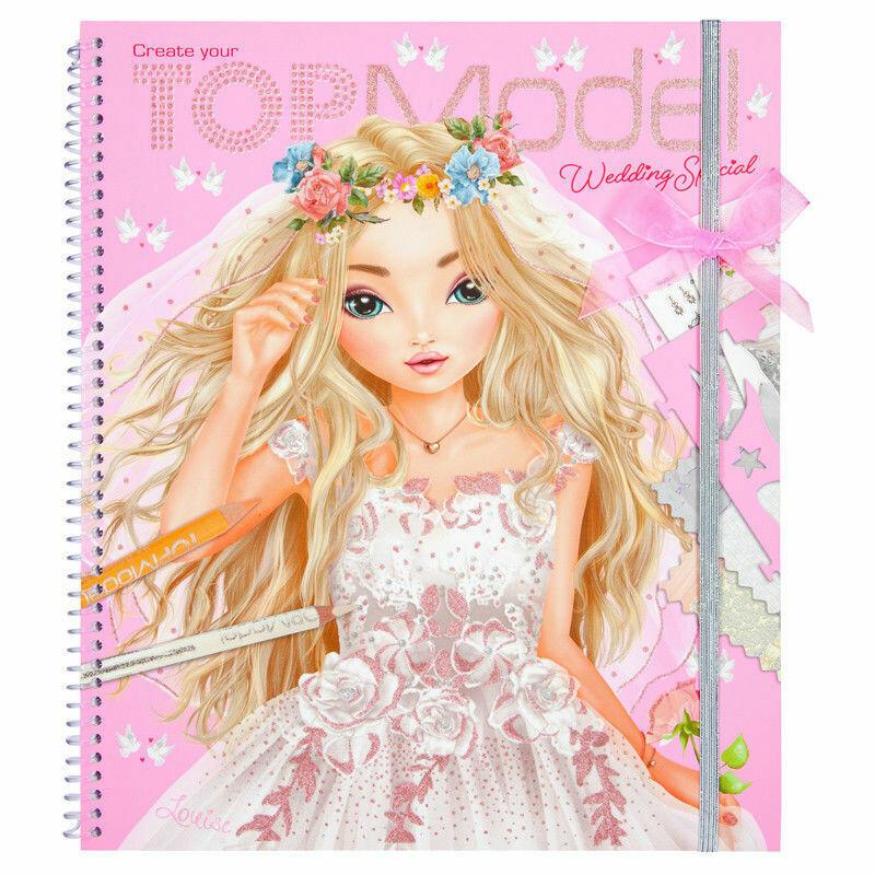 Розмальовка TOP Model Весілля ( Раскраска TOP Model Свадьба )
