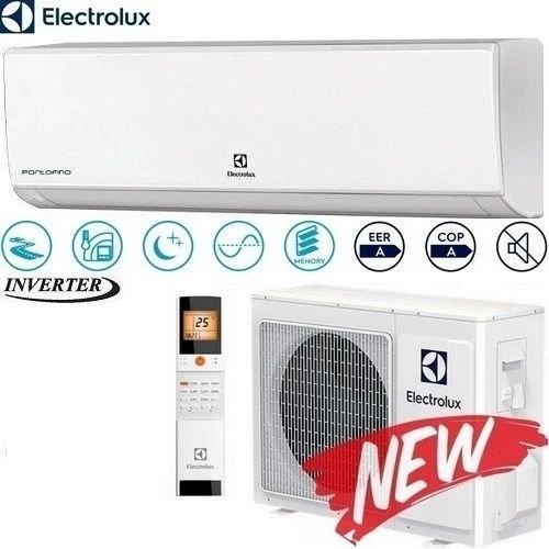Кондиционер настенный Electrolux Portofino Іnverter New (-22°C) EACS/I-18HP/N3