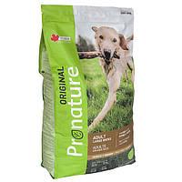 Pronature Original Adult LB Chicken ПРОНАТЮР ОРИДЖИНАЛ КУРИЦА корм для собак крупных пород  15 кг.