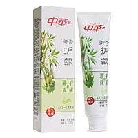 Зубна паста ZHONG HUA з бамбуком для свіжого дихання 130 гр