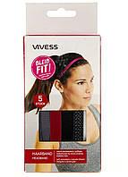 R3-330009, Резинка-ободок для волос Набор 5 шт, , разноцветный