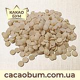 Шоколад справжній без домішок білий 29,8% Schokinag (Німеччина) 1 кг в каллетах, фото 3