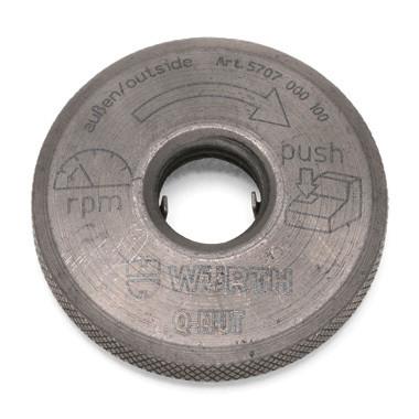 Быстрозажимная гайка Q-Nut для угловых шлифовальных машин Wurth