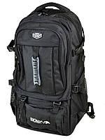 Рюкзак туристический Power In Eavas 1085 USB-выход объем 45 л черный нейлон 55 х 32 х 25 см