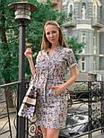 Женское платье с поясом (в расцветках), фото 2