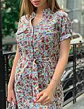 Женское платье с поясом (в расцветках), фото 5