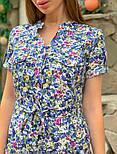 Женское платье с поясом (в расцветках), фото 6