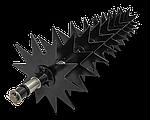 Скарификатор с плоскими ножами для газона 102см на минитракторы и райдеры Husqvarna, McCulloch