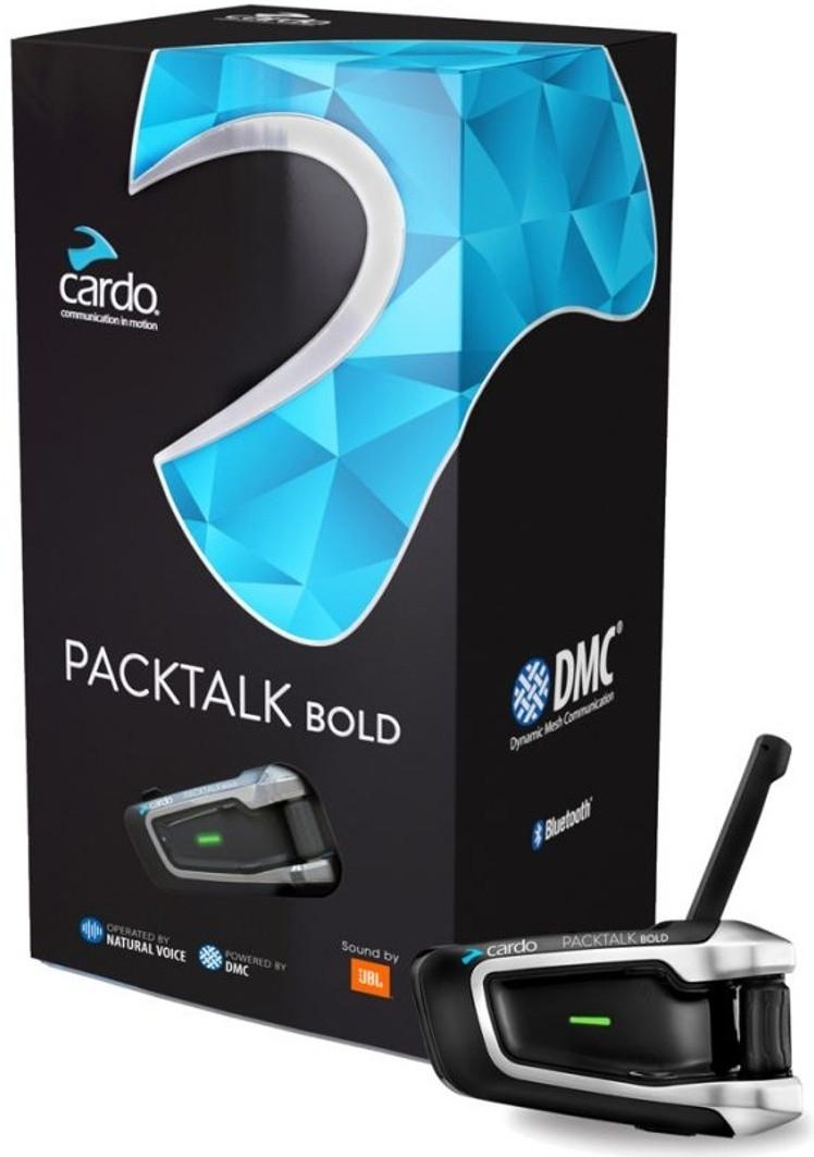МОТОГАРНИТУРА Cardo Scala Rider PackTalk Bold JBL, Single