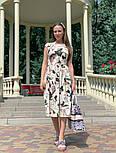 Женское платье с цветочным принтом (в расцветках), фото 2