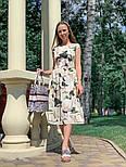 Женское платье с цветочным принтом (в расцветках), фото 3
