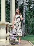 Женское платье с цветочным принтом (в расцветках), фото 4