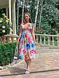 Женское платье с цветочным принтом (в расцветках), фото 9