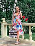 Женское платье с цветочным принтом (в расцветках), фото 10
