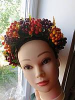 """Обруч-венок на голову """"Праздник Осени/К вышиванке"""", фото 1"""