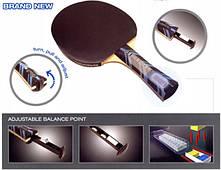 Ракетка для настольного тенниса Donic Waldner 1000 для профессионалов, играющих в атакующем стиле.