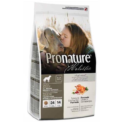 Pronature Holistic 2.72 кг (Пронатюр Холистик) с индейкой и клюквой сухой холистик корм для собак всех пород