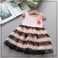 Плаття нарядне рожеве Розмір: 90, 120 см