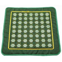 Массажный коврик из нефрита натуральные со вставками Соты