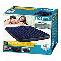 Надувной матрас Intex 64755, двухместный (203 х 183 х 25 см)