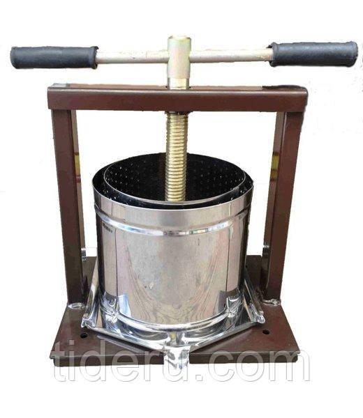 Пресс для сока ручной Вилен 25 литров нержавейка