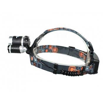 Налобный аккумуляторный фонарь Police RJ-3000 фонарик на лоб
