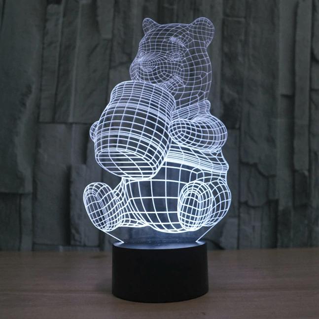 Сменная панель для 3D светильника 3D Lamp Винни Пух (SP-3176)