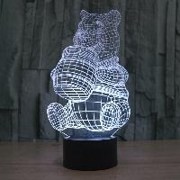 Сменная панель для 3D светильника 3D Lamp Винни Пух (SP-3176), фото 1