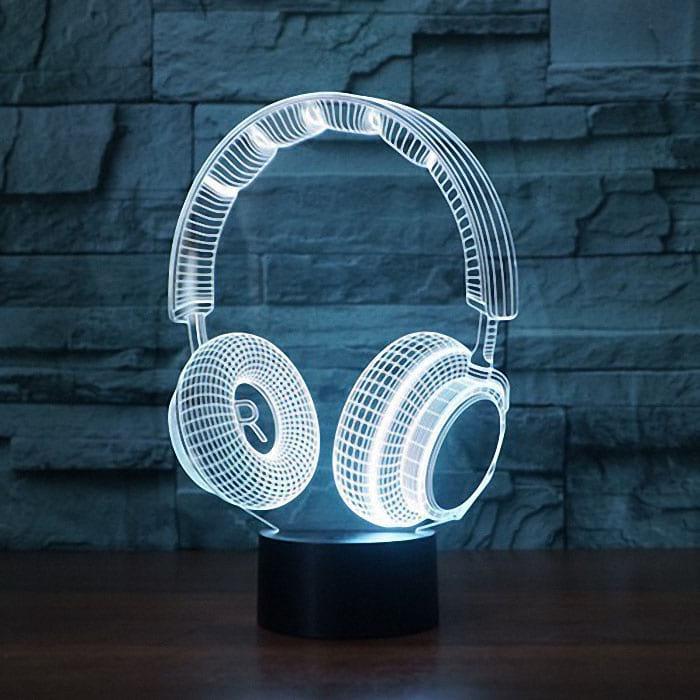 Сменная панель для 3D светильника 3D Lamp Наушники v2 (SP-3136)