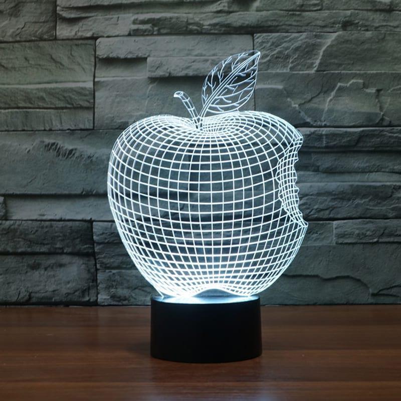Сменная панель для 3D светильника 3D Lamp Яблоко (SP-3106)