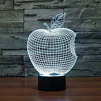 Сменная панель для 3D светильника 3D Lamp Яблоко (SP-3106), фото 1