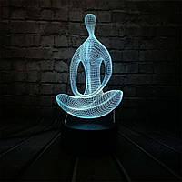 Сменная панель для 3D светильника 3D Lamp Йога (SP-3088), фото 1