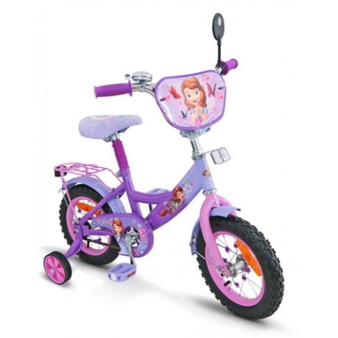 Двухколесный велосипед София 12'' (SP1201) с зеркалом