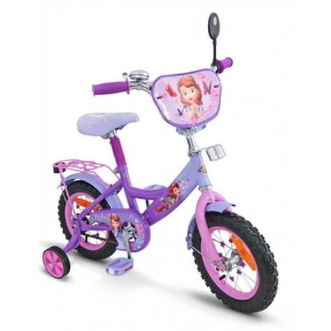 Двухколесный велосипед София 12'' (SP1201) с зеркалом, фото 2