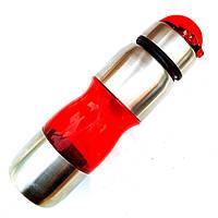 Фляга для велосипеда 650ml велосипедная бутылка красная