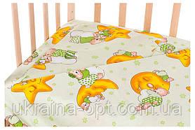 Сменное постельное белье в детскую кроватку