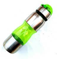 Фляга для велосипеда 650ml велосипедная бутылка зеленая