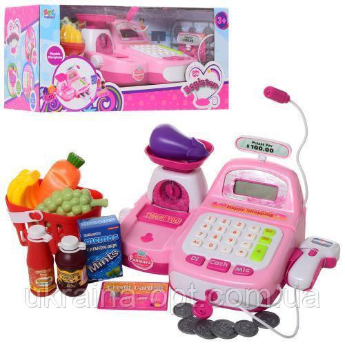 Детский супермаркет.  Keenway. Кассовый аппарат с микрофоном. 16656
