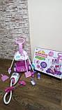 Набор детский для уборки с пылесосом, щетка, совок, звук, фото 6