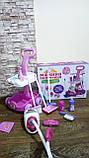 Набор детский для уборки с пылесосом, щетка, совок, звук, фото 7