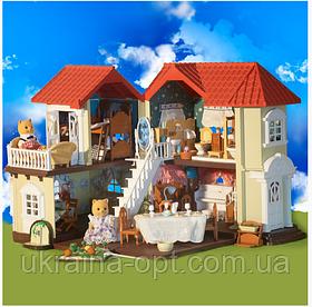 Домик Happy family 012-03 - аналог дома Sylvanian families