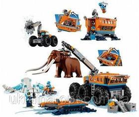 Конструктор BELA City Передвижная арктическая база 10997 (Аналог LEGO City 60195) 880 дет