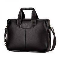Мужская сумка для ноутбука Polo Vicuna черная