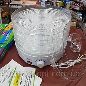 Электрическая сушилка для фруктов и овощей Maestro MR-765 (5 ярусов)