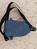 Барсетка qp слінг на груди якість Унісекс/Сумка спортивні для через плече(ОПТ), фото 4