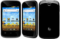"Телефон Fly IQ256 Vogue Black - 2Sim+3,5""+GPS+ Android, фото 1"