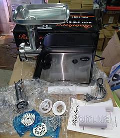 Електром'ясорубка + соковижималка м'ясорубка Rainberg RB-6305 (реверс) 3000W